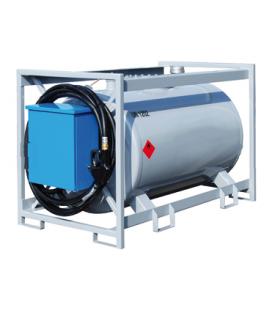 IBC fém tartály - 375 liter