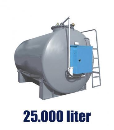 DUOTANK 25m3 - üzemanyagkút