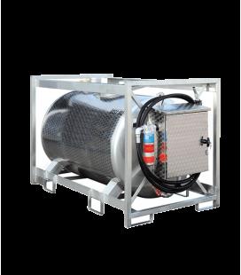 BENZIN tartály - 910 liter Inox